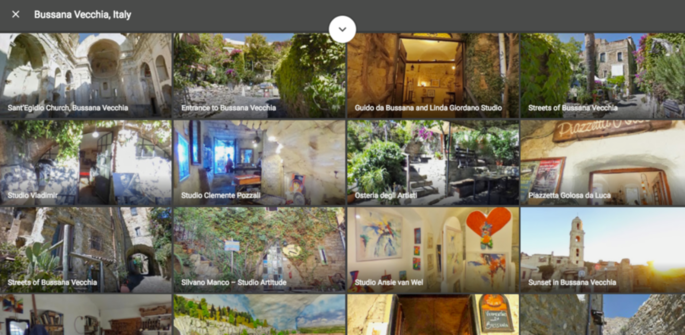 Bussana Vecchia: the first pedestrian village in Italy, after Venice, to be imaged by Google's Street View. [Video and photo gallery]