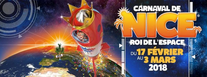 "Nice carnival: ""King of Space"" from 17th February until 3rd March"