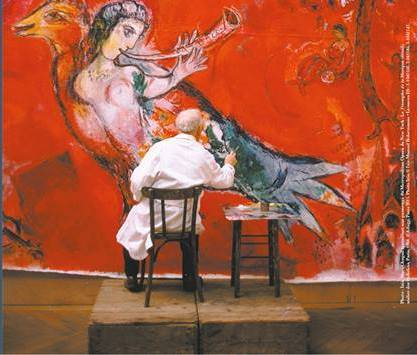 Chagall and music in Nice - ItalyRivierAlps Chagall Museum Nice