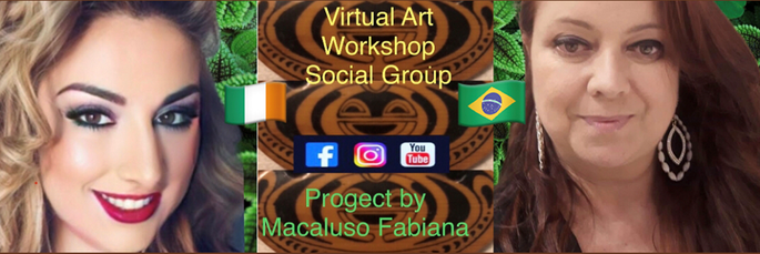 Macaluso Fabiana, Italian contemporary artist and her exhibition in Brasil