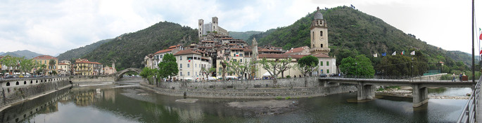 Dolceacqua Panorama, credit  Don Paolo