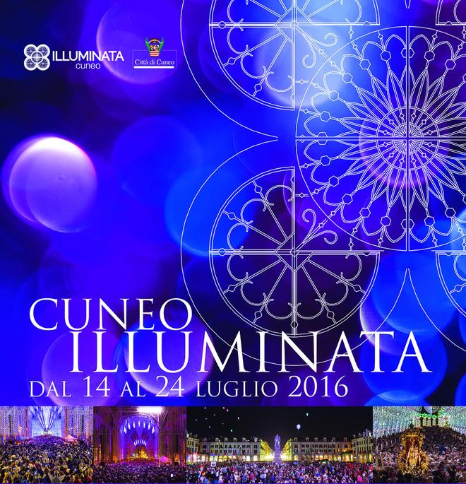 Много сюрпризов  на фестивале Illuminata в Кунео