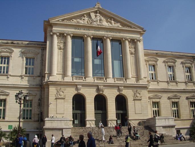 Justiz Palast Nizza