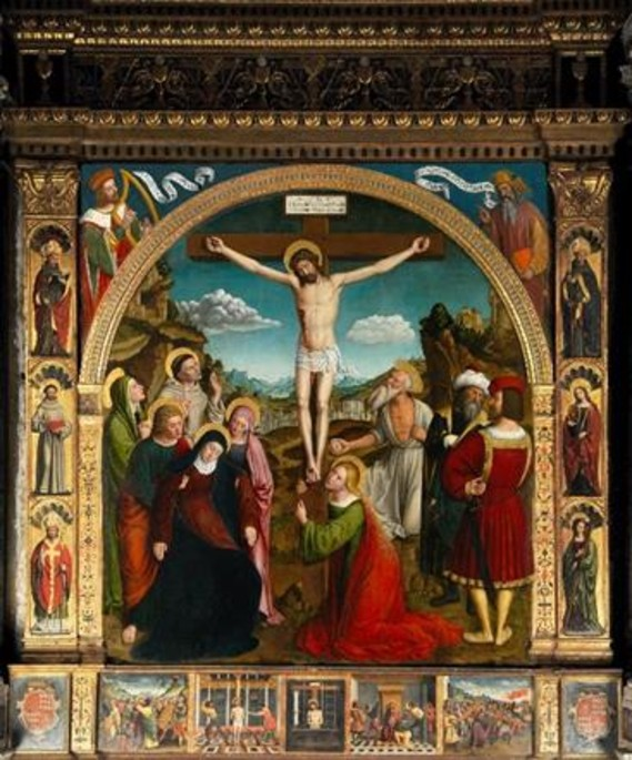 La Crucifixion par Louis Brea, 1512 - © Photo Ville de Nice