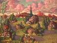Landschaft mit Felsen