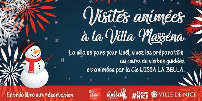 #Ницца: #Рождество на вилле #Masséna