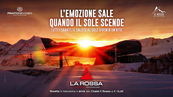 Prato Nevoso делает ставку на закаты. С субботы 8 февраля проходит Приветствие солнцу