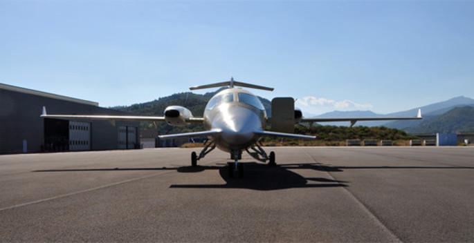 Neue Flugzeug Produktion von Piaggio Aerospace