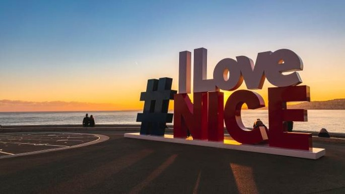 Nice: #ILoveNice is back where it should be