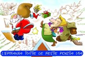 Wish you a happy Befana or Epyphany, however you prefer to call this day !