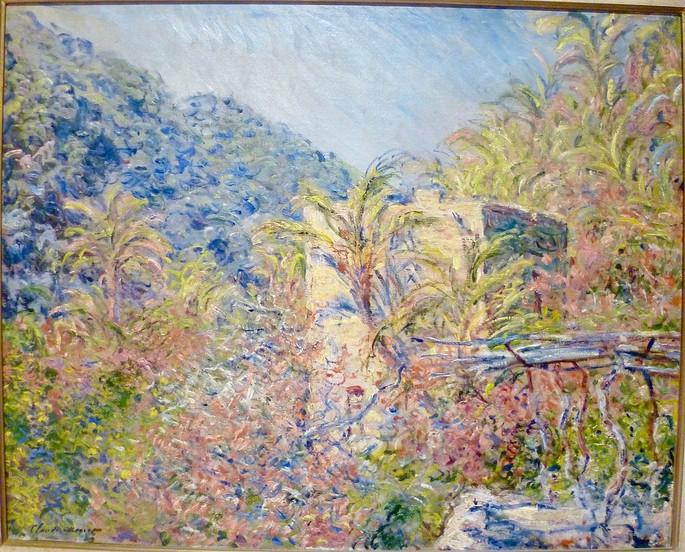 Monet, La Vallée de Sasso effet de soleil
