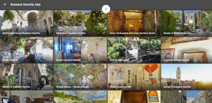 Bussana Vecchia: die erste Fussgänger Ortschaft in Italien, nach Venedig, von Googles Street View abgebildet zu werden. [Video und Foto Galerie]