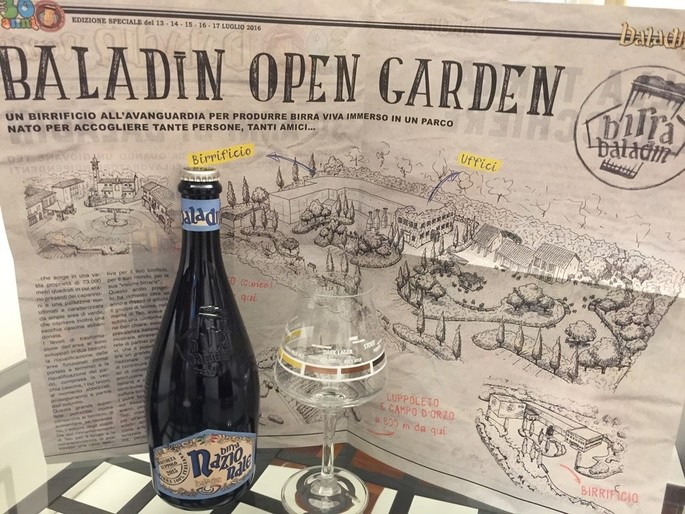 Baladin brewery opens its new Open Garden with a party on Summer Solstice