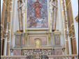 San Fedele Chapel in Milan, Holy Heart by Fontana, credit Maurizio_OM_Ongaro