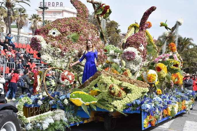 Flower parade Sanremo