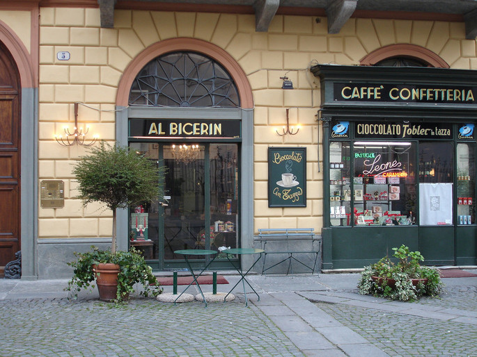 Kaffee Confiserie Al Bicerin, Kredit Flickr