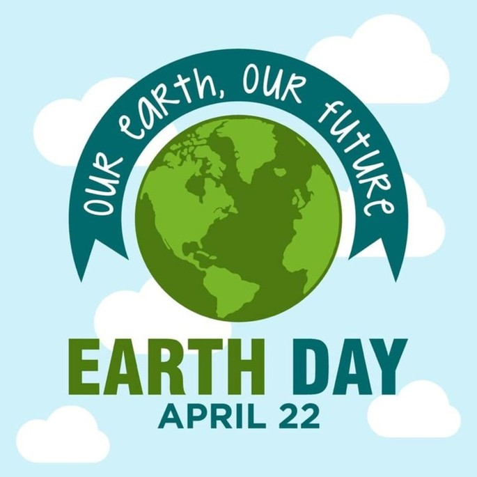 On April 22nd it's Earth Day