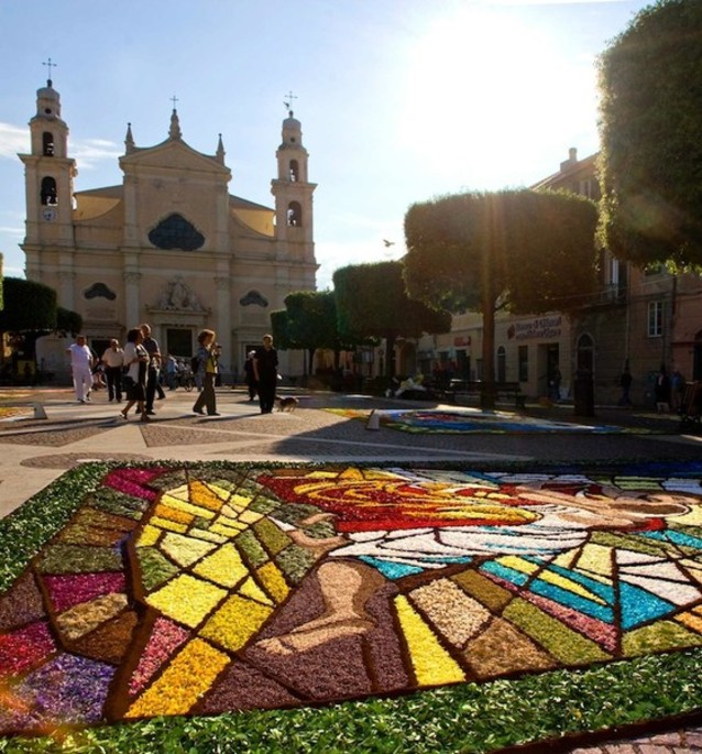 """""""Pietra Ligure in Fiore"""", the countdown begins for Europe's largest floral display [Video gallery]"""