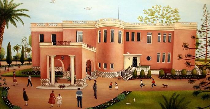 """Ницца: """"Розовый  - это жизнь"""", выставка  в Музее наивного искусства.  До 20 апреля 2020 года"""