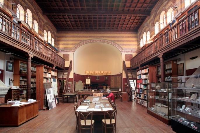 Das Innere des Gebäudes