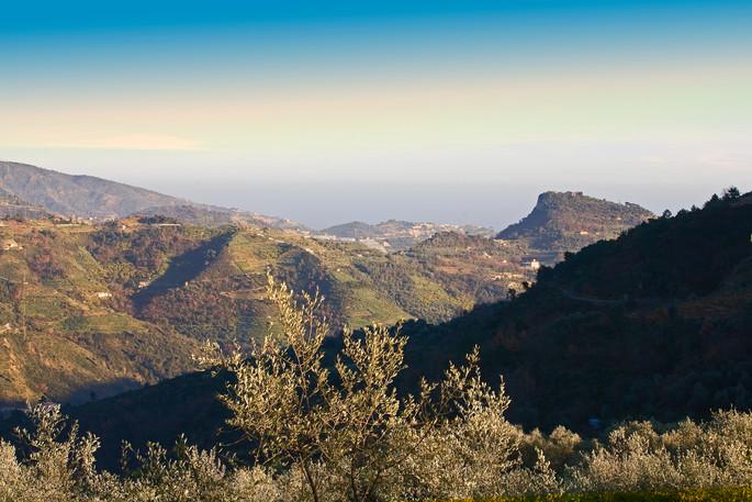 The Alta Via dei Monti Liguri hiking trail runs through the entire Liguria region