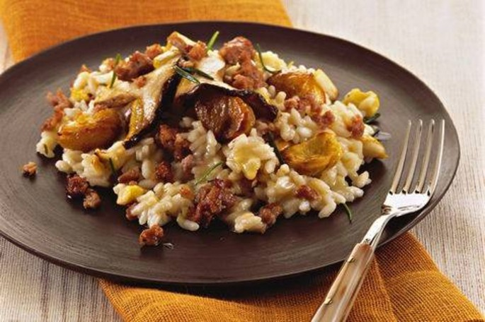Recipe of the Week: Chestnut Risotto