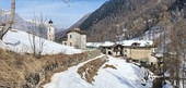 Maira Valley (CN): with snowshoes to discover little villages and breath-taking views